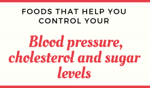 foods that help control cholesterol