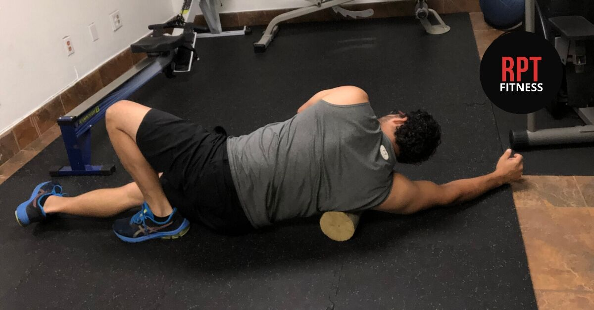 Foam Rolling and working with Rafael PT Fitness